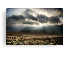 God's Fingers, Co Wicklow, Ireland. Canvas Print