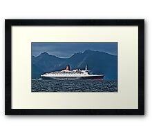 Last Voyage QE2 Framed Print