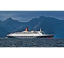 Last Voyage QE2 Photographic Print