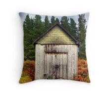 HDR Shed Throw Pillow