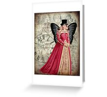 Dapper Dame Greeting Card