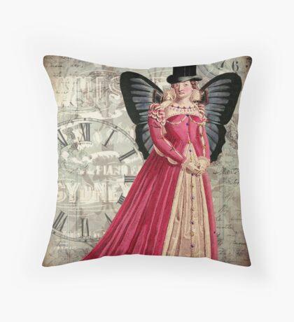 Dapper Dame Throw Pillow