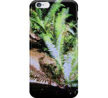 Wild Fern Shadows, Oregon iPhone Case/Skin