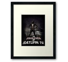 The Snakemen of Saturn IV Framed Print