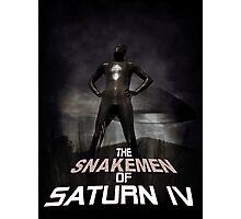 The Snakemen of Saturn IV Photographic Print