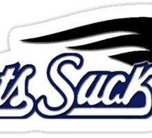 Pats Suck Sticker