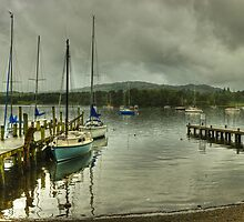 Windermere..Jetties and Yachts by Jamie  Green