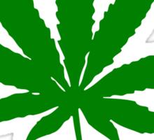 Go Green - Legalize Marijuana Sticker
