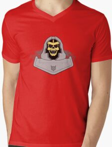 Skeletron Mens V-Neck T-Shirt