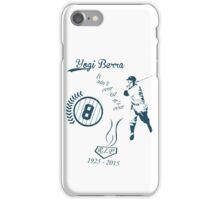 Yogi Berra RIP iPhone Case/Skin