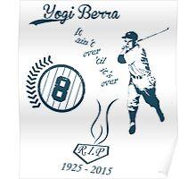 Yogi Berra RIP Poster