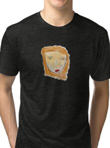 Red-Haired Girl Tee Tri-blend T-Shirt