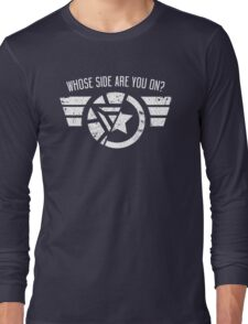 Whose Side Are You On? - Civil War Long Sleeve T-Shirt