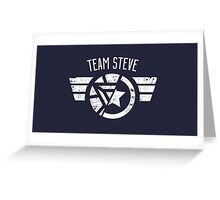 Team Steve - Civil War Greeting Card