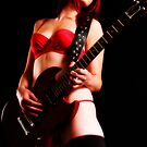 Red Rock (Playing in Lingerie) by melmoth