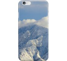 Salt Lake City - Wasatch Mountains iPhone Case/Skin