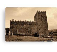St Munna's Church. Taghmon,  Westmeath Ireland. Canvas Print