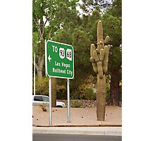 Route 66 - Kingman, Arizona Photographic Print