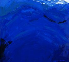 Blue #1, Musashi Series by Susan Baily Weaver
