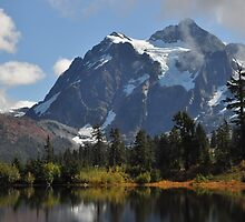 Mount Shuksan Autumn by Lynn Bawden
