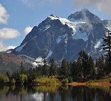 Mount Shuksan Autumn by Lynn Bawden