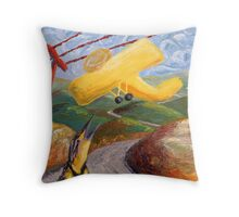 Sounds from Childhood Throw Pillow