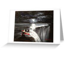 Dark Falls Greeting Card