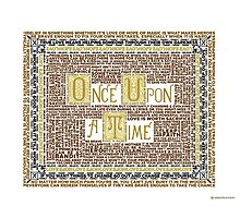 Wisdom of Once Upon A Time Photographic Print