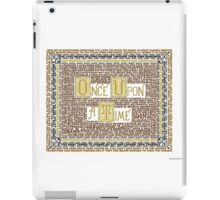 Wisdom of Once Upon A Time iPad Case/Skin