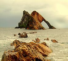 Bow Fiddle Rock by AllSeeingEye