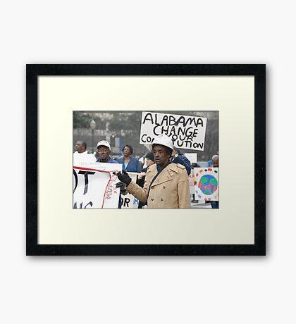Marching Framed Print
