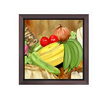 Green Plantain Creole Soup Photographic Print