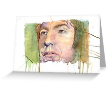 Alan Rickman - Fan Art Greeting Card