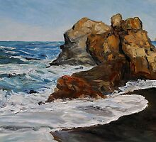 Northern California Surf Building by TerrillWelch
