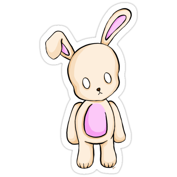 A Tiny Bunny T-Shirt by ShayLeiArt
