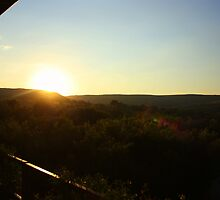 Sunset over the Cradle of Humankind by MarkySA