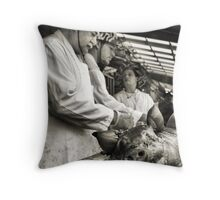 Butcher Throw Pillow
