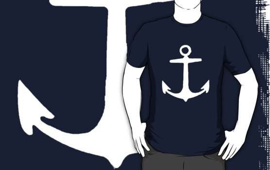 Anchor (White) by Rosalind5