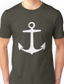 Anchor (White) Unisex T-Shirt