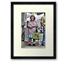 Patron Framed Print