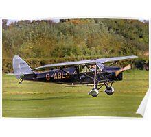 De Havilland DH.80A Puss Moth G-ABLS Poster