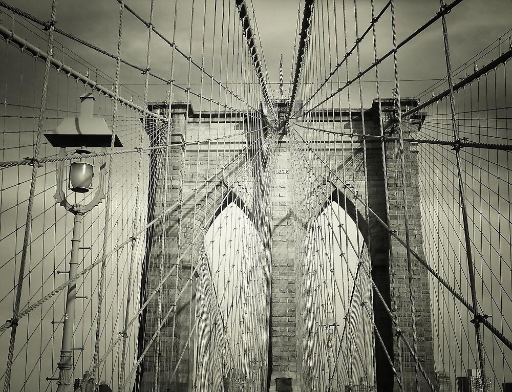 The Brooklyn Bridge by Vivienne Gucwa