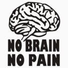 No Brain No Pain by Raudius