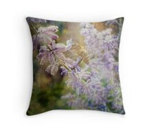 'Like a bee in flight' Throw Pillow