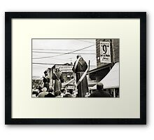 9th Street May Procession Framed Print