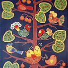 BIRD'S TREE by Marilia Martin