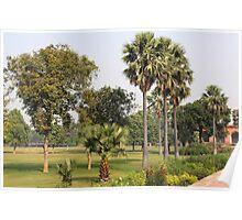 Sikandra Akbars Tomb Poster