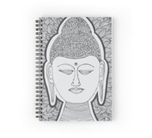 Buddha Artwork Spiral Notebook
