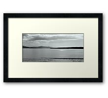 Sea View Framed Print