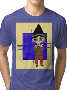 Which Way to Happiness? Tri-blend T-Shirt